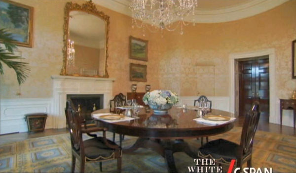 family residence dining room white house museum. Black Bedroom Furniture Sets. Home Design Ideas